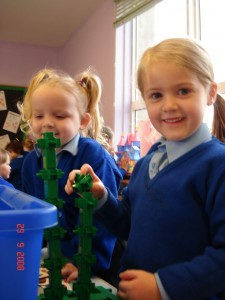 Junior Infants enjoying playtime!